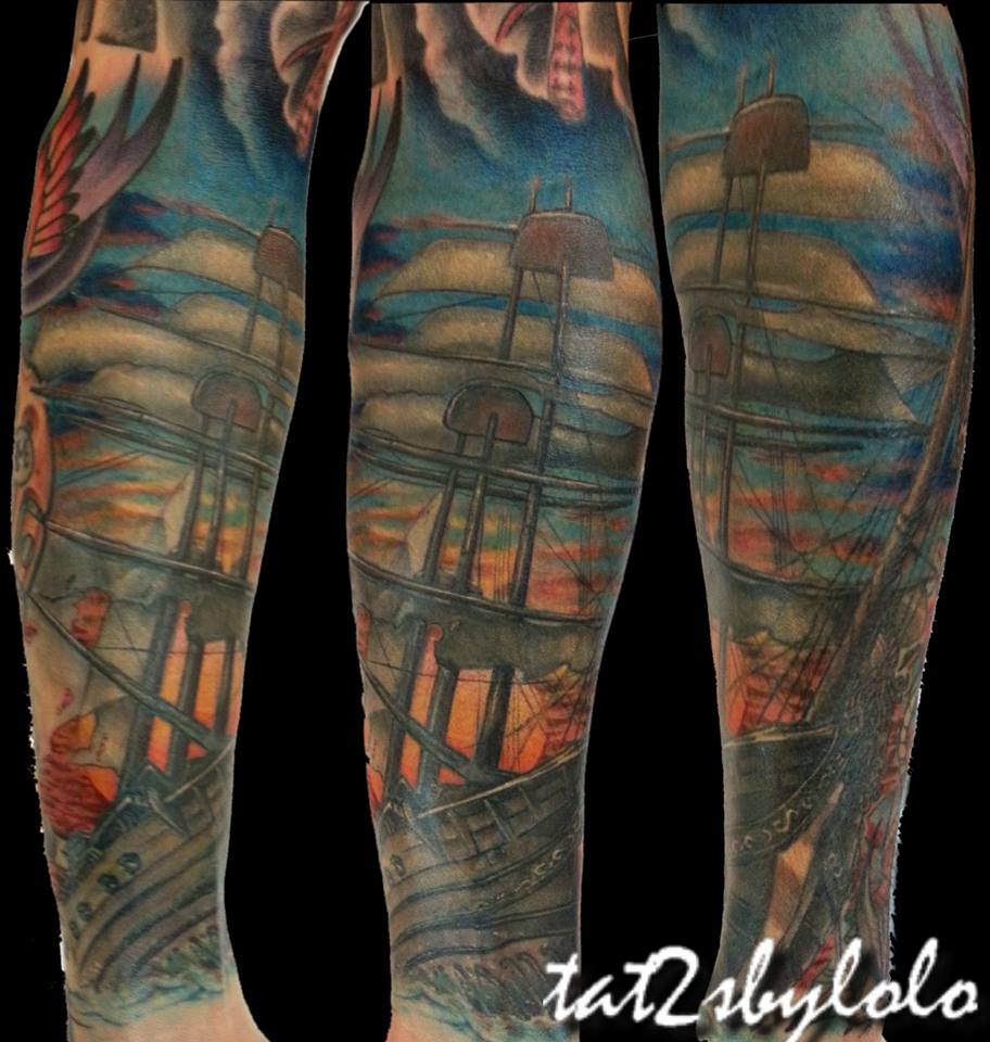 dark waters tattoo