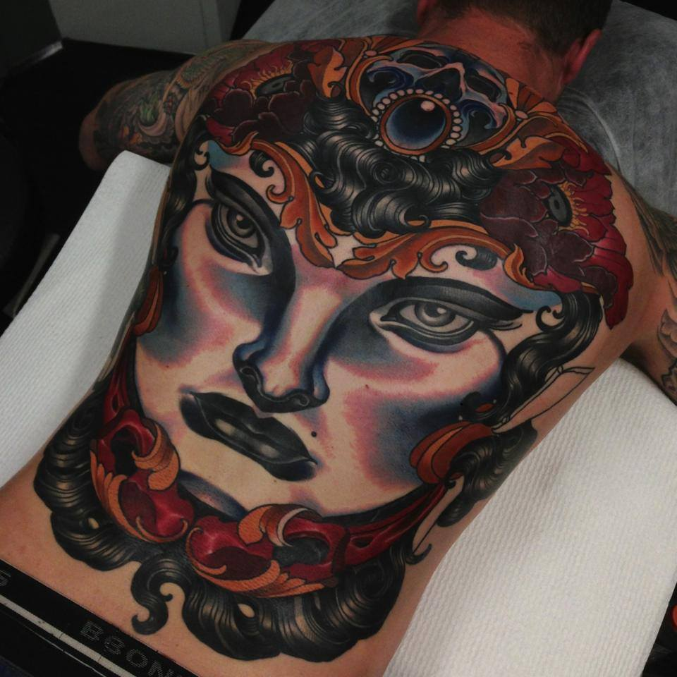 roman numerals tattoo shoulder