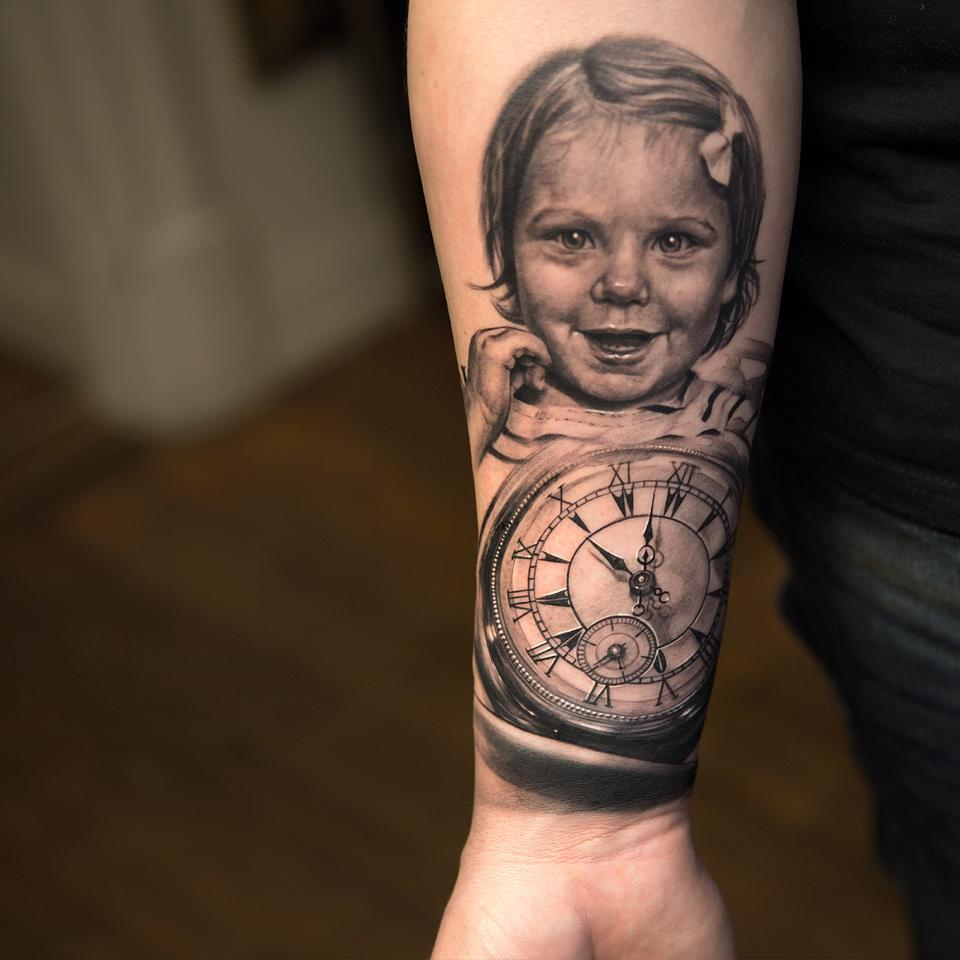 Niki Norberg Tattoo-