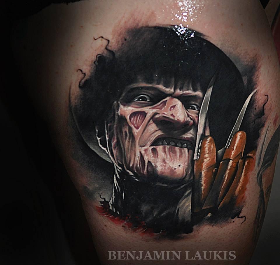 benjamin laukis tattoo