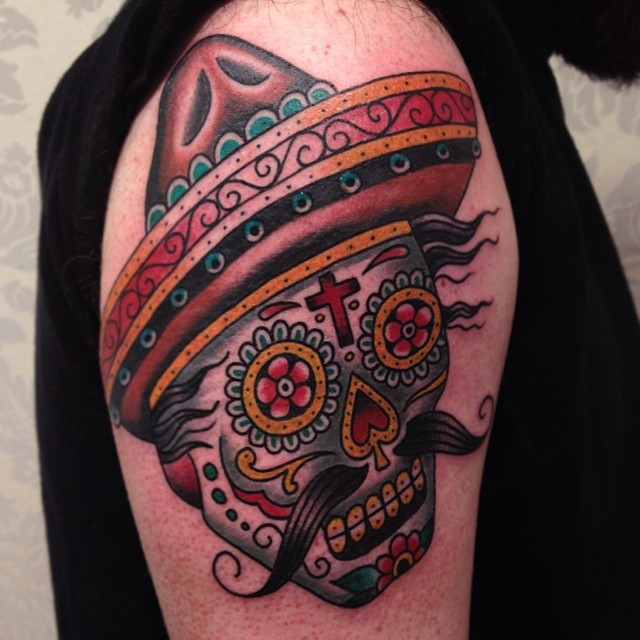 matt houston tattoo