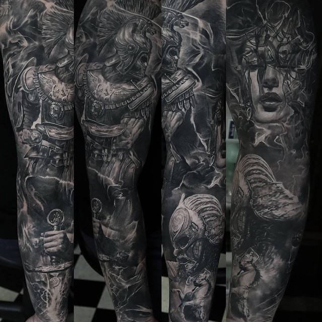 domantas parvainis tattoo find the best tattoo artists anywhere in the world. Black Bedroom Furniture Sets. Home Design Ideas