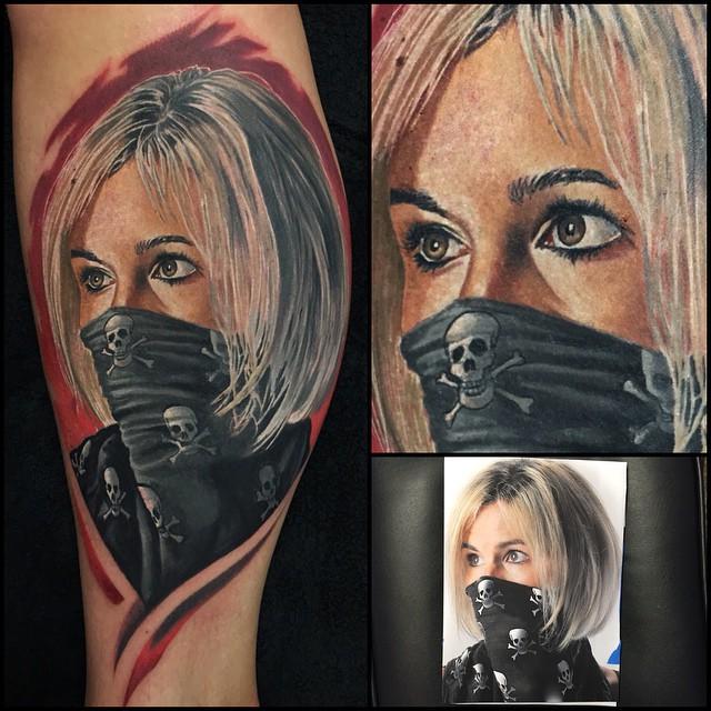 Randy Engelhard Tattoos