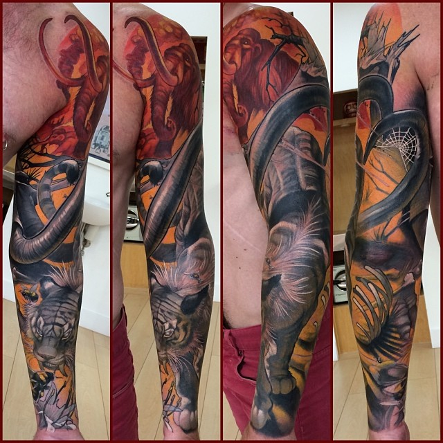 Steve moore tattoo find the best tattoo artists anywhere for Top 100 tattoo artists world