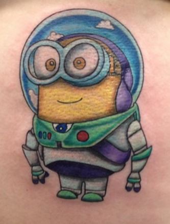 cute despicable me tattoo