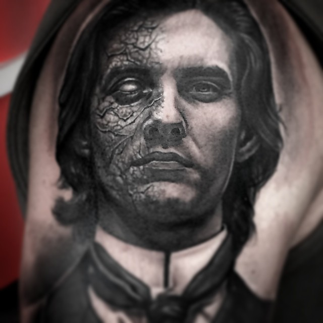3D Portrait Tattoos