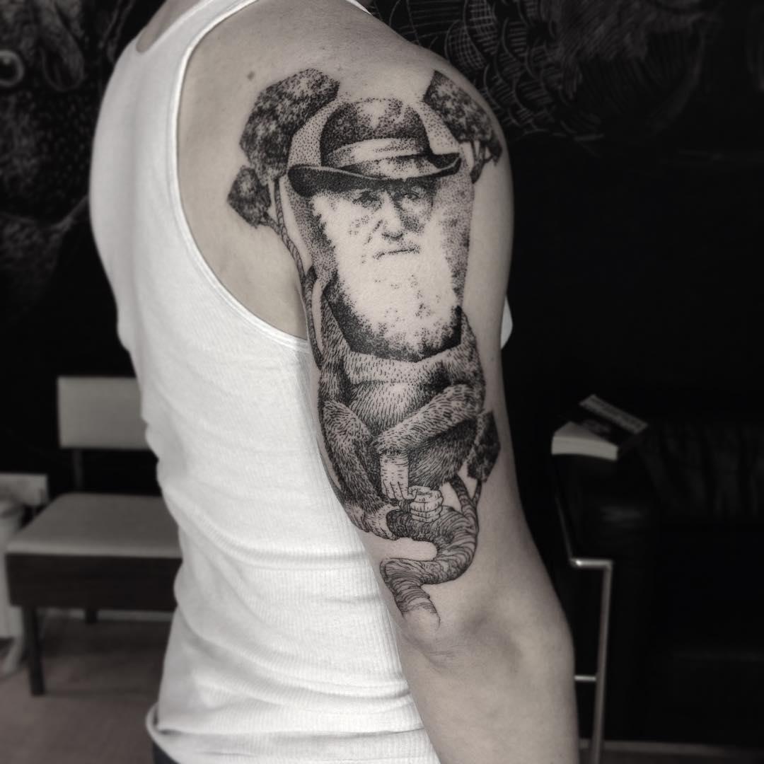 Ottorino d 39 ambra tattoo find the best tattoo artists for Evolution tattoo studio