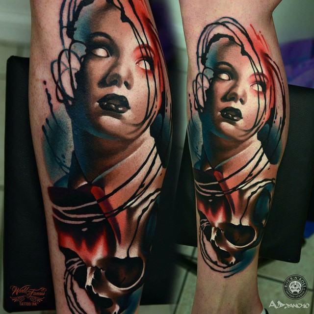 A d pancho tattoo find the best tattoo artists anywhere for Tattoo artist school