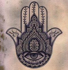 hamsa tattoo idea and meaning 2
