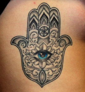 hamsa tattoo idea and meaning 1