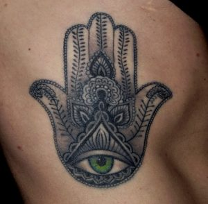 hamsa tattoo idea and meaning 4