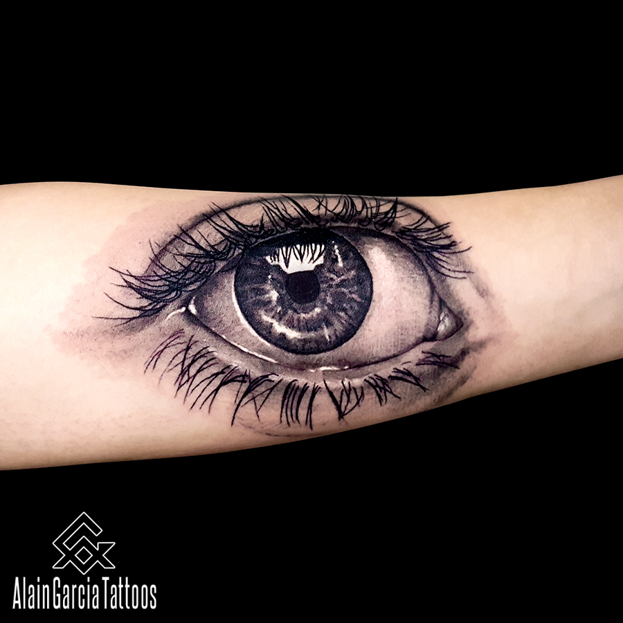 Alain garcia tattoo find the best tattoo artists for Eye tattoo art
