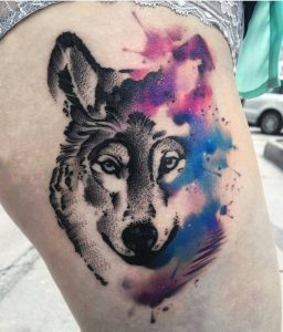 watercolour-tattoos-by-kozubskaola-wolf