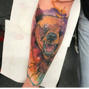 watercolour-tattoos-by-billy_tattoos-bear