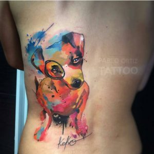 watercolour-tattoos-by-pablo_ortiz_tattoo-puppy-dog