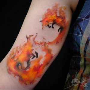 watercolour-tattoos-by-versusink-fox
