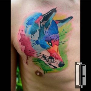watercolour-tattoos-by-hamitattoo-fox