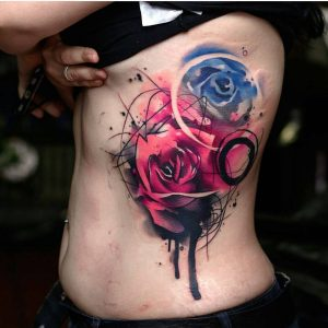 watercolour-tattoos-by-uncl_paul_knows-roses